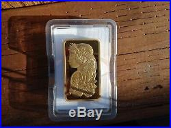 IRA Approve 10 oz Gold Bar Pamp Suisse Fortuna 999.9 Fine 24kt in Case withAssay