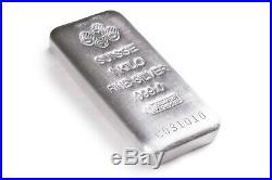 Kilo 32.15 oz Silver PAMP Suisse Silver Cast. 9999 Fine Silver Bar