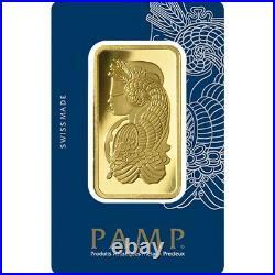 L@@K PAMP 100g GOLD Bar Minted PREPPER Survival Investment