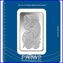 L@@K PAMP 100g Silver Bar Minted PREPPER Survival Investment