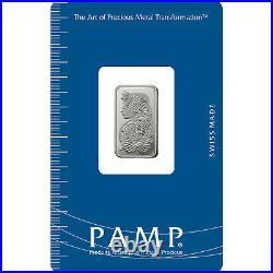 L@@K PAMP 5g PLATINUM Bar LADY FORTUNA Minted PREPPER Survival Investment
