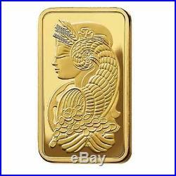 Lady Fortuna 2.5g. 9999 Gold Minted Bullion Bar PAMP Suisse