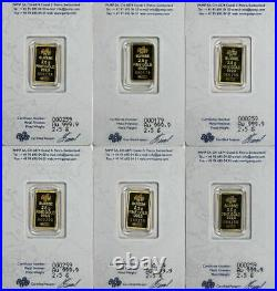 Legendary Gold Rushes of the World Collection PAMP Gold Bar and Nugget Set