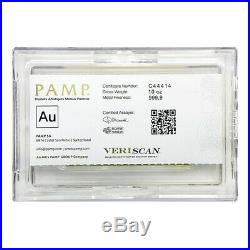 Lot of 2 10 oz PAMP Suisse Lady Fortuna Gold Bar. 9999 Fine (In Assay)