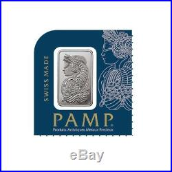 Lot of 5 1 g Platinum Bar PAMP Suisse Lady Fortuna In Assay from Multigram+25