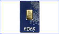 New PAMP Suisse 10 Gram. 9999 Gold Bar Fortuna