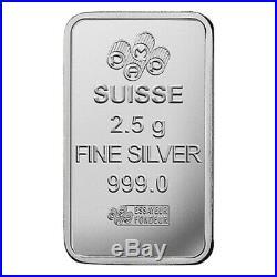 New Pamp Suisse Multigram Portfolio 2.5 Gram Gold, Palladium, Platinum Silver