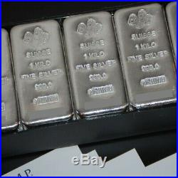 PAMP 1kg Silver Bullion Bar 99.9% Free express postage AUS