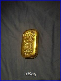 PAMP SUISSE 100 gram. 9999 fine Gold Bar with Certified Assay
