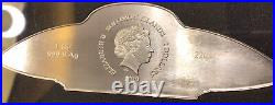 PAMP SUISSE 2020 UFO 1oz Silver Bar. 9999 Fine Only 3000 Minted CHRISTMAS GIFT