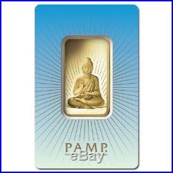 PAMP Suisse 1 Ounce Gold Bar Buddha