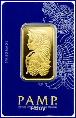 PAMP Suisse 1 oz. Gold Bar Fortuna with VeriScan Cert. SKU27398