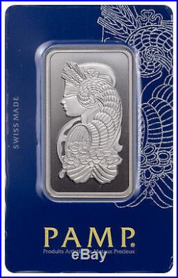 PAMP Suisse 1 oz Rhodium Fortuna Bar New Sealed With Assay Certificate SKU43806
