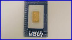 PAMP Suisse 10 grams Fine Gold 999.9 1 Bar 753154