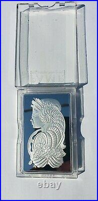 PAMP Suisse 10 oz Silver Bar In Capsule withAssay