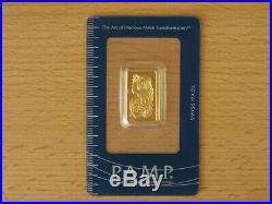 PAMP Suisse 10g gold bar fortuna design