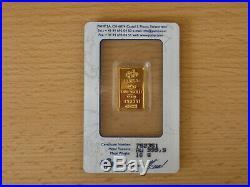 PAMP Suisse 10g gold bar fortuna design