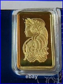 PAMP Suisse 2.5 Gram Gold Bar Fortuna With VeriScan Opened package