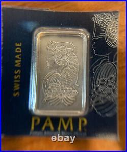 PAMP Suisse 2.5 Gram Palladium Bar. 9995 Assay Card