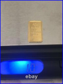 PAMP Suisse 3.5G+ IAR 2G+Canadian Mint 1G(Total6.5 Gram)