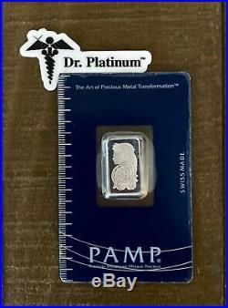 PAMP Suisse, 5 gram 999.5 Platinum Bar