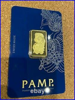 PAMP Suisse Gold Bar Bullion Fortuna 2019 10g
