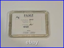 PAMP Suisse Lady Fortuna 100g. 999 Fine Silver Bullion Bar with Assay