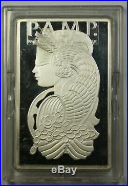 PAMP Suisse Lady Fortuna 250g. 999 Silver Bar with Case and COA