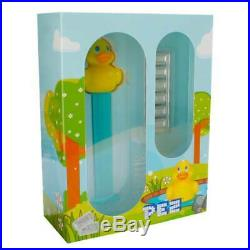 PEZ Rubber Duck Dispenser & Silver 30 gram PAMP Suisse Wafers (withBox & COA)