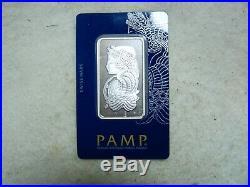 Palladium Bar 1oz- PAMP Suisse 999.5 Fine. Sealed. Cert #022020