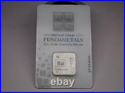 Pamp. 999 Ruthenium 1/2 Rare In Assy Card Brand New Ready To Ship