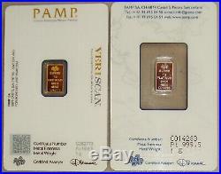 Pamp Suisse 1 Gram Gold & 1 Gram Platinum Fortuna Bullion Bar Pack