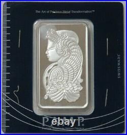 Pamp Suisse 100 Gram 999 Fine Silver Bar