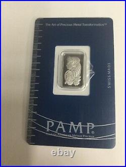 Pamp Suisse 2.5 Gram Palladium Bar (in Assay)