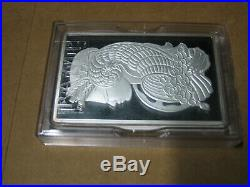 Pamp Suisse 250g. 999 Silver Bullion Bar with Case / Assay LOW Number
