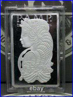 Pamp Suisse 5oz. 999 Fine Silver Lady Fortuna Bar #C003496 #RP ECC&C, Inc