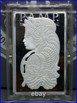 Pamp Suisse 5oz. 999 Fine Silver Lady Fortuna Bar #C003497 #RP ECC&C, Inc