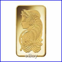 Pamp Suisse Fortuna 1 oz Gold Bar Sealed In Assay