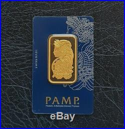 Pamp Suisse Fortuna Veriscan 1 Oz 999.9 Fine Gold Bar New & Sealed