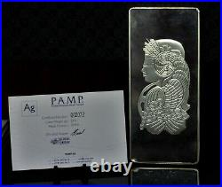 Pamp Suisse Lady Fortuna 500g Silver Bar #2072 withCOA 051DUD