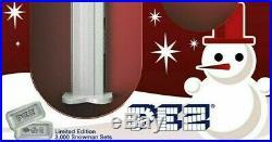 Pamp Suisse Pez Dispenser Snowman 30 Grams 9999 Silver Wafers $118.88