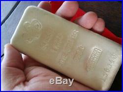 Pamp Suisse Silver 1 Kilo Bar With Assay Certificte 999.0 Fine Silver