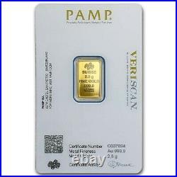 Pamp Suisse Veriscan 2.5g Gold Bullion
