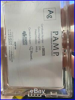 Pamp silver bar 250g
