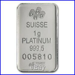 Pure Platinum 1gram Lady Fortuna Pamp Suisse 14kt Gold Pendant $148.88