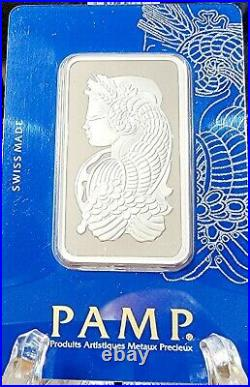 RARE! PAMP Suisse 1oz (31.10g) 999.0 Pure Rhodium Bar Certificate Number C000963