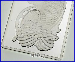 Rare 5 oz PAMP Suisse Fortuna Silver Bar (New with Assay)