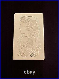Rare Pamp Suisse 250 Gram Silver Bar Lady Fortuna With Original Case & Cert