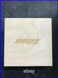 Rare Pamp Suisse 5 gram BNSF train in presentation box 999 gold bar low serial